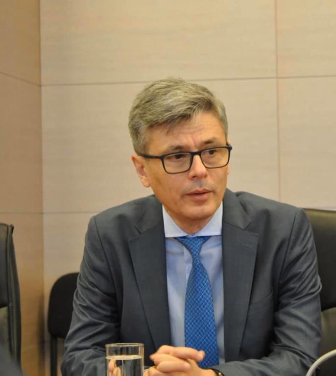 Virgil Popescu anunță începerea producției de măști în România, în contextul coronavirusului (Sursa foto: Facebook/Ministerul Economiei)