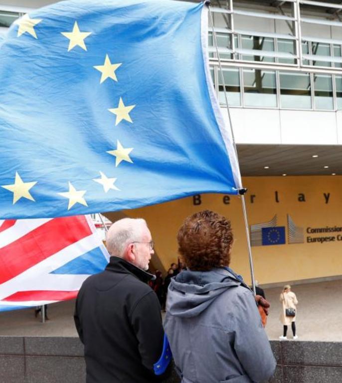 Brexit cu acord sau fără acord? (Foto: Reuters/Francois Lenoir)