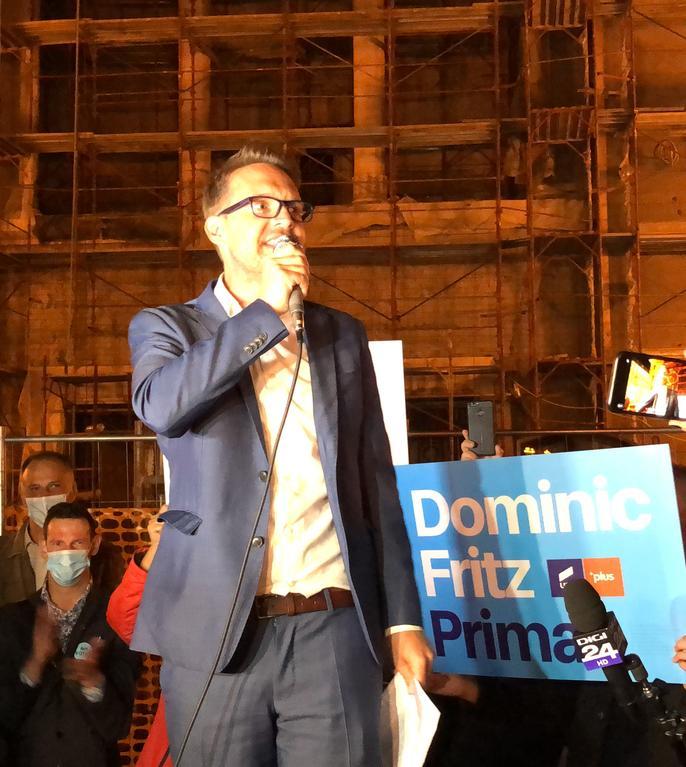 """Dominic Fritz, primarul ales al Timișoarei, se așteaptă să aibă de gestionat """"și o mică criză bugetară a orașului""""."""