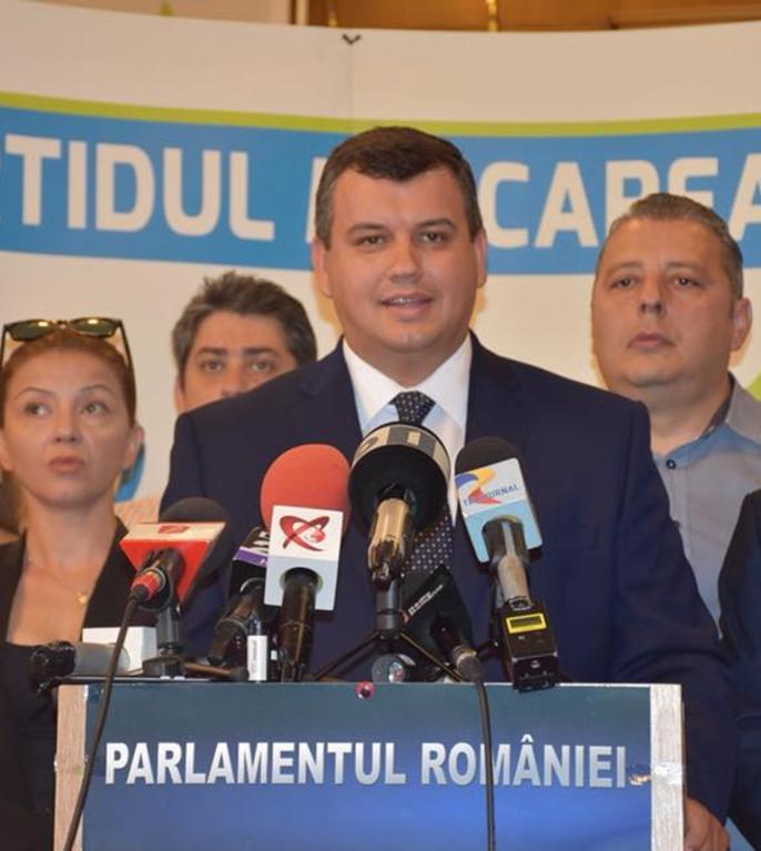 Eugen Tomac: PMP nu susține moțiunea de cenzură (Sursa foto: Facebook/Eugen Tomac)