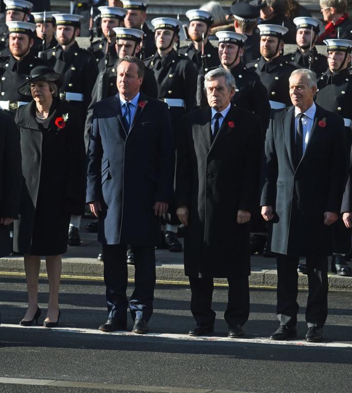 Prim ministrul Boris Johnson și cei cinci predecesori ai săi