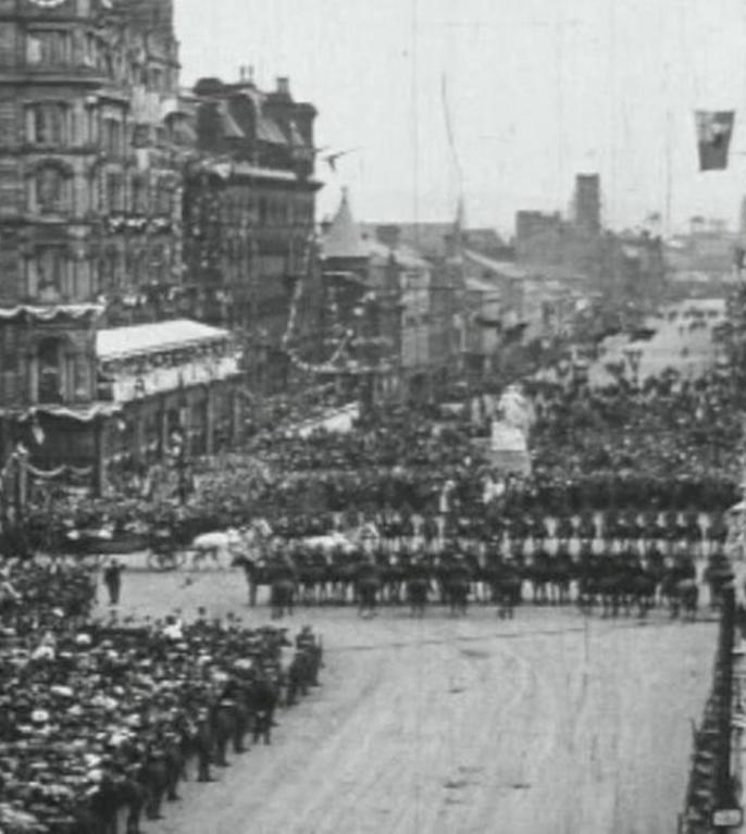 Vizita Regelui George al V-lea la Belfast 1921