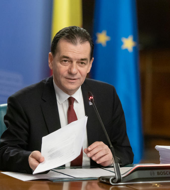 CCR: Conflict juridic de natură constituțională, în privința desemnării lui Ludovic Orban ca prim-ministru (Sursa foto: gov.ro)