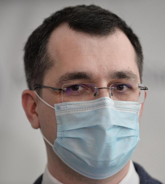 Vlad Voiculescu, critic în privința campaniei slabe de vaccinare (Sursa: MEDIAFAX FOTO/Eduard Vînătoru)