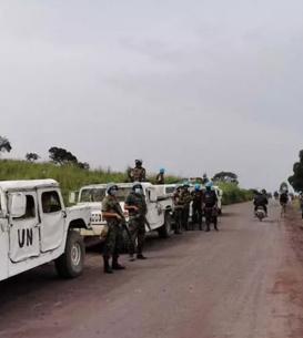 Patrule ale misiunii ONU în zona unde a fost comis asasinatul, 22 februarie 2021