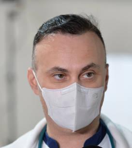 Adrian Marinescu face un apel la populație să se vaccineze (Sursa: MEDIAFAX FOTO/Eduard Vînătoru)