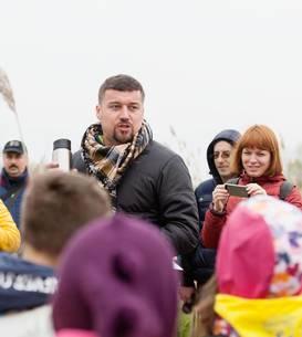 Ovidiu Bufnilă s-a implicat în multe proiecte pentru copii, alături de SOR (Foto: Facebook/SOR)