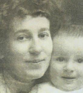Viorica Agarici și fiul ei
