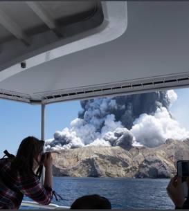 Whakaari este cel mai activ vulcan din Noua Zeelandă.