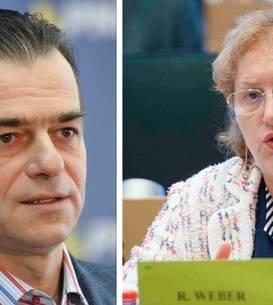 Premierul Ludovic Orban și Avocatul Poporului, Renate Weber