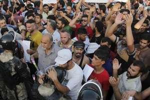 Manifestatie împotriva coruptiei în Irak, august 2015, Bassora