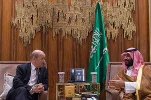 Ministrul francez de externe Jean-Yves Le Drian în deplasare la Ryad pentru convorbiri cu Mohamed Ben Salman