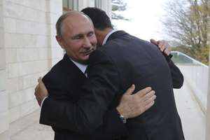 Vladimir Putin si Bachar al-Assad