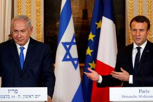 Conferinta de presa de la Paris: Benjamin Netaniahu si Emmanuel Macron