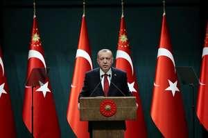 Recep Tayyip Erdogan anuntînd alegeri anticipate la Ankara, 18 aprilie 2018.