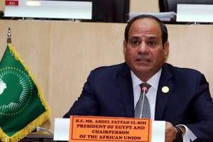 Noul preşedinte anual al Uniunii africane, şefului de stat egiptean Abdel Fattah al-Sissi.