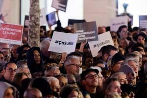 Manifestatie la Paris (februarie 2019) contra actelor antisemite din Franta