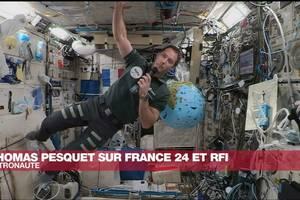 Astronautul francez Thomas Pesquet a fost în direct de pe Statia Spatiala Internationala cu redactiile RFI si France24.