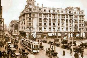 Hotelul Athénée Palace în 1915