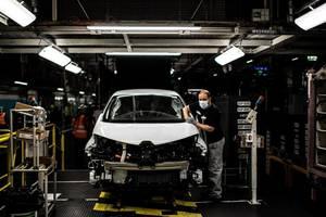La uzina Renault din Flins, 6 mai 2020