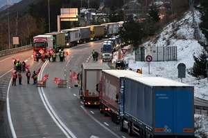 Blocaj înregistrat la tunelul Fréjus, axa majora de circulatie rutiera între Franta si Italia