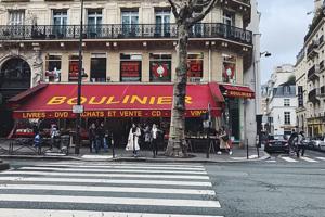 La Paris librăria Boulinier, cu cărţi de ocazie, îşi va închide definitiv porţile pe data de 15 iunie.