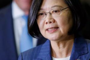 Preşedinta Taiwanului, Tsai Ing-wen, iulie 2019.