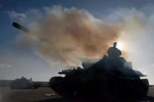 Elemente ale armatei libiene sub conducerea mareşalului Haftar
