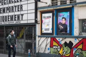 Teatru parizian închis...