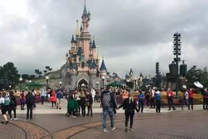Parcul Disneyland Paris, iulie 2020.