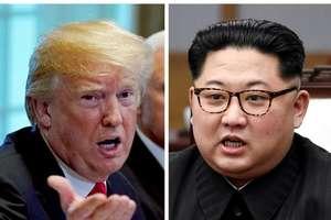 Donald Trump si Kim Jong-un. Este vorba de prima întâlnire între un presedinte american în exercitiu si un lider nord-coreean