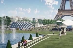 Proiectul, extrem de controversat, prevede printre altele plantarea de copaci pe Pont d'Iéna.