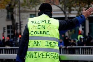 Week-end-ul din 16 si 17 noiembrie a marcat aniversarea unui an de la declansarea miscàrii vestelor galbene