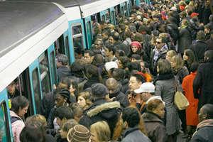 Statie de metrou parizianà în timpul grevei din noiembrie 2007