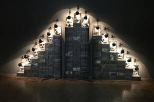 Christian Boltanski, instalaţie cu fotografii anonime la Centrul Georges Pompidou