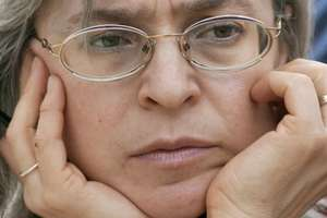 Jurnalista Anna Politkovskaia a fost împuscata în octombrie 2006 la Moscova