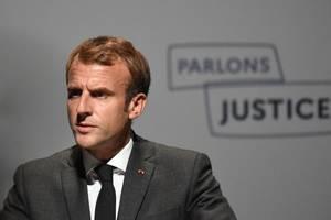 Emmanuel Macron la Poitiers, 18 octombrie 2021