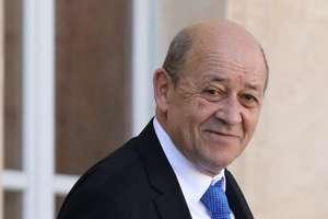 Jean-Yves Le Drian, ministrul francez de externe