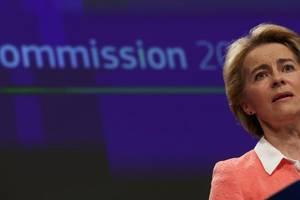 Ursula von der Leyen, viitoarea presedintà a Comisiei europene, 10 septembrie 2019