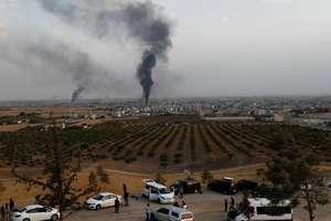 Lupte sunt duse în jurul orasului frontalier Ras Al-Ain.