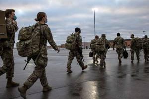 Mai sunt 2.500 de soldati americani în Afganistan. Statele Unite au debarcat aici dupa atentatele de la 11 septembrie 2001.