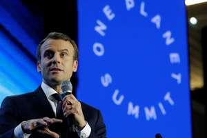 Presedintele francez Emmanuel Macron cautà sà devinà lider mondial al combaterii schimbàrilor climatice