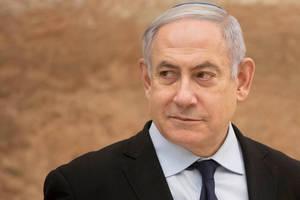 Premierul Benjamin Netanyahu pe 22 decembrie 2019 la Ierusalim.