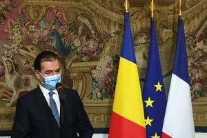 Premierul României, Ludovic Orban la Matignon, Franta, 26 octombrie 2020.