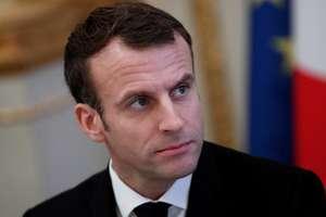 Presedintele Frantei, Emmanuel Macron la Palatul Elysée, 10 decembrie 2018.