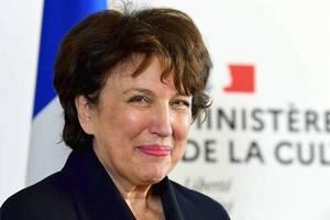 Roselyne Bachelot conduce ministerul Culturii din Franta.