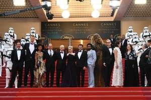 Stormtroopers, Chewbacca si Solo pe covorul rosu de la Cannes