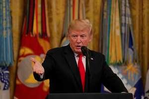 Presedintele american Donald Trump la Casa albà pe 12 septembrie 2018