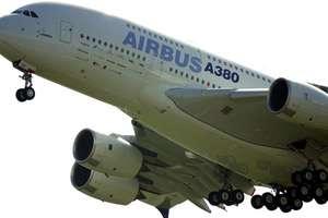 Un avion Airbus A380.