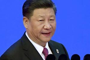 Xi Jinping, presedintele Chinei, în aprilie 2018.